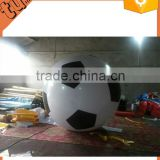 hot sale custom PVC inflatable funny football, inflatable advertising soccer ball for kids