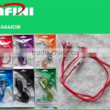 2015 Professional wireless earphone with bluetooth, CE certificate, and low price