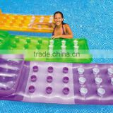 customised high quality Bedroom furniture outdoor pvc inflatable beach air bed mattress