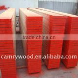 OSHA Pine LVL scaffolding plank/board with steel cap on both ends for construction and building