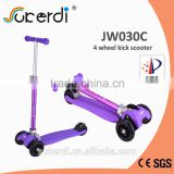 New patented product colorful tube kids kick scooter iscooter manufacturer