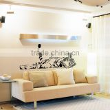 tiger animal wall sticker decoration kids room living room wall decals home decor hot sell sticker LM035