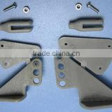 RC Aircraft Parts 3 holes 4 holes Grey Plastic Control Horns With Ball Clevis For rc plane DIY special use