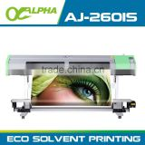 1.6m DX5 print head cheap eco solvent printer