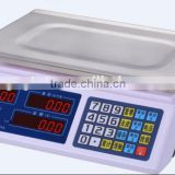 30 kg LED/LCD Digital Weighing Price Scale with Stainless Steel Pan