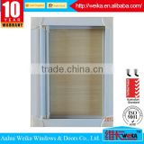 2015 new design White or any color awning roller aluminum screen window/aluminum screen window