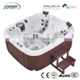 New Compact Square Acrylic Indoor Composite Freestanding Spa Bath for 4 Persons JY8806