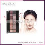 Professional popular High Quality naked eyeshadow palette 20 colors Branded Eyeshadow Palettes with brushes