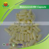 Manufacturer Supply Melatonin & VB6 Capsule