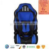 2016 hot sale child car seat, baby car seat with ECE R44/04 for group 1+2+3 (9-36kgs, 1-12 year baby)