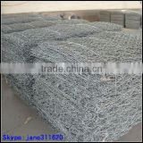 supply galvanized gabion box/stone gabion box/pvc coated gabion wire mesh for slope protection