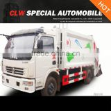 hot sale dongfeng 4*2 5 Tons compactor garbage truck
