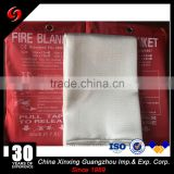 top sale golden Excellent quality low price fire resistant blanket , fiberglass fire blanket