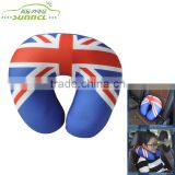 UK Flag U Shape Neck Pillow Filled with Polystyrene Beads