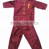 silk kung fu clothing