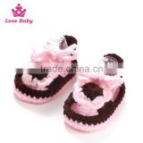 wholesale top sale high quality and cheap crochet baby shoes LBS20151223-45