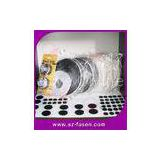Removable Self Adhesive Velcro Dots Glued , Nylon Double Sided Velcro Tape