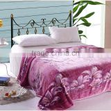 Factory Wholesale Offset Printing Lily Coral Fleece Blanket/Sheet