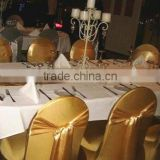 gold nylon chair cover with sash gold spandex chair cover bronze wedding lycra chair covers