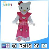 Sunway Adults Mascot Costumes, Hello Kitty Custom Design Mascot, Hot Sell Cartoon Fur Costumes