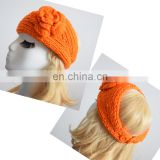 hand knitted head warmer