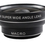 distortionless 0.45X Super wide angle 20X macro 2 in 1 mobile phone camera lens for nikon smartphone
