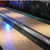 Glow Synthetic Pin Desk Indoor Bowling Lane