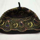 Mauritania embroidered wool cap  Africa embroidered wool cap  /  Muslim embroidered wool cap /  Muslim  wool cap