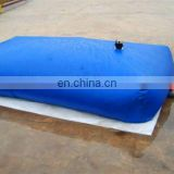 foldable rainwater collection pvc water tank in desert