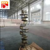 Engine parts forged crankshaft Used for all kinds of excavator bulldozer
