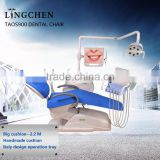 CE Approved Dental Chair Massage with Two Years Warranty Functions of Dental Chair