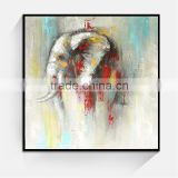 JC New Designer Home Decoration Living Room Elephant Animal Oil Painting On Canvas                                                                         Quality Choice