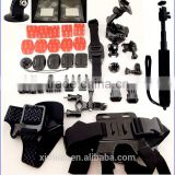 gopro accessories for gopro 4 accessories for gopro hero 4 for go pro camera accessories set Combo Kit