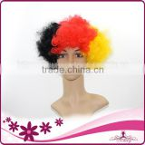 2014 world cup football fans wig made for germany fans from china wendy hari company with the best price