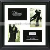 Wedding Picture Frame Mat, White Color Acid Free Multi Opening Acid Free Collage Mat Board For Home Decoration