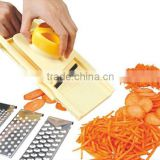 S/S+ABS 28.5*13.5*3.5 Fruit and vegetable cutting tools multifunctional grater slicer/manual vegetable slicer grater