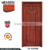 antique decorative solid wood doors more than six panels waterproof cheap exterior wood door for home or hotel