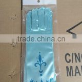 Hot Sell Frozen Costume Elsa Roleplay Gloves frozen gloves wholesale elsa gloves for snow queen cosplay GL5000