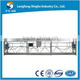 7.5m working platform / aluminum ladder scaffolding electric / construciton lifting hoist gondola