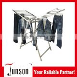 Butterfly Folding Clothes Drying Rack/Stainless Steel Balcony Laundry Rack/Standing Clothes Dryer
