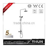 Euro-style stainless steel 304 bath shower mixer