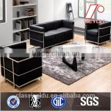 Italy leather Le Corbusier sofa replica LC2 SF-504