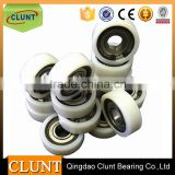 10 years Bearings manufacturer Plastic Rubber coated steel deep groove ball bearings for sliding door
