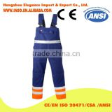Men's cargo pocket work overall workwear Bib Overalls twill multi pocket working overall mechanic overalls