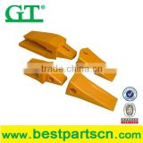 excavator parts bucket teeth types,7T4704 +4T4703 mini excavator backhoe loader bucket teeth excavator spare parts