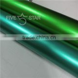 5 Star Brand High Shiny PVC 1.52*20m/roll Car Viny Sticker Pearl Chrome Vinyl Wrap