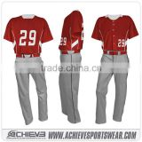 wholesale custom cheap sublimated baseball jersey fashional baseball jersey pattern