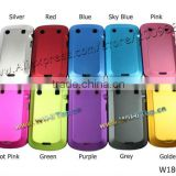 10 Colors Available / Aluminum Back Cover Hard Case with Silicon for Blackberry Bold 9900 9930