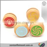 Personalized wooden painting yoyo toy