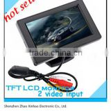 "factory 4.3"" Car monitor High Definition Car Color TFT LCD Monitor Rearview DVD w/PAL/NTSC"